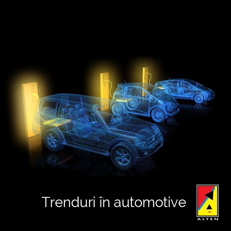 Trenduri în automotive pentru anul 2020