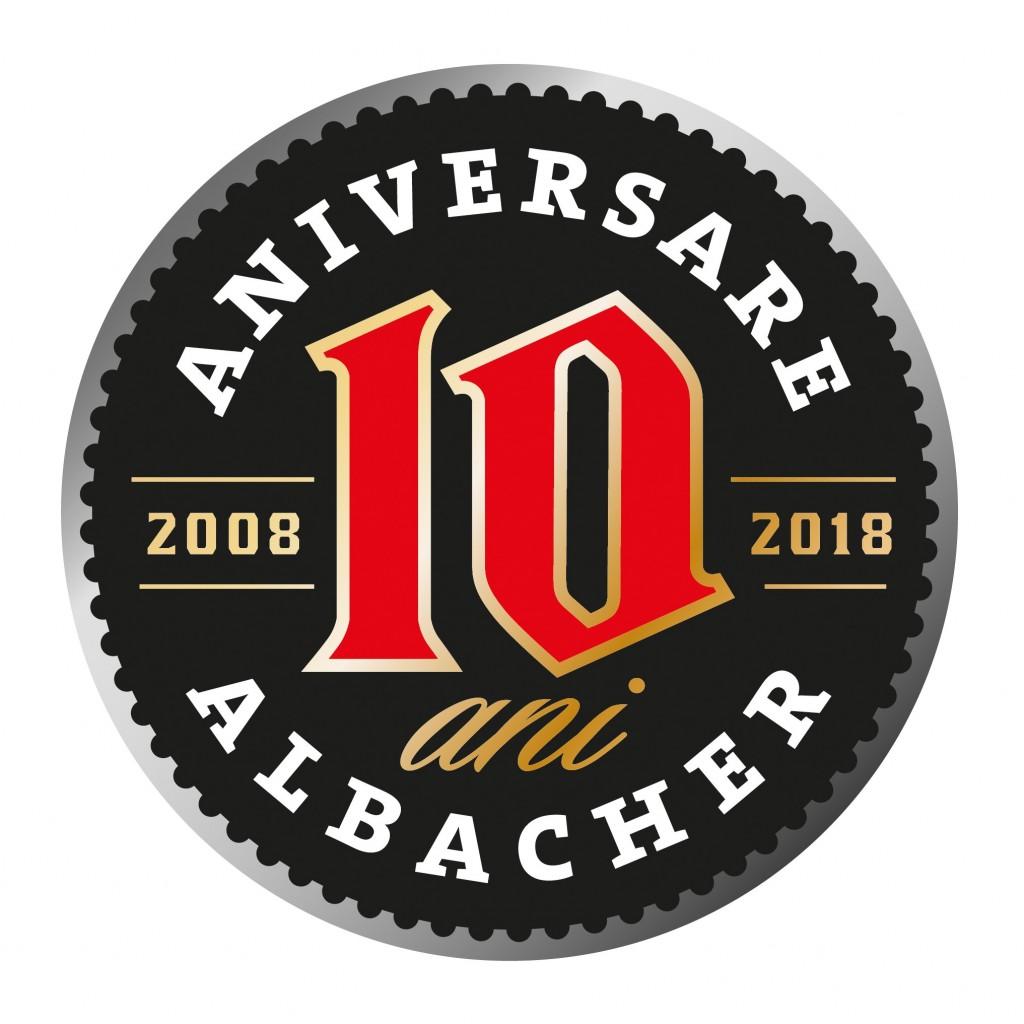 Romaqua Group sărbătorește 10 ani de când a lansat pe piață berea Albacher