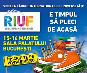 500.000 euro – fond de burse la RIUF pentru tinerii romani care aleg sa studieze în strainatate
