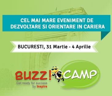 Speakeri inspirationali la o noua editie BuzzCamp