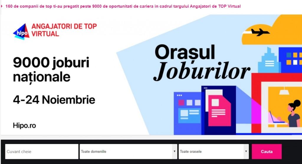 În ce domenii își pot găsi cu un job candidații din orașe precum: București, Iași, Cluj-Napoca și Timișoara?