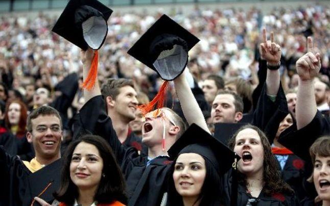 Studentia, moment unic in viata