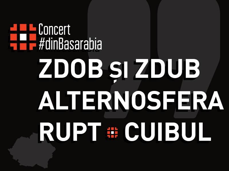 Zdob si Zdub si Alternosfera, din nou pe aceeasi scena la Bucuresti