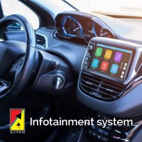 Sistemul infotainment pentru masini