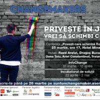 Changemakers - proiect pe tema responsabilitatii sociale si cetateniei active