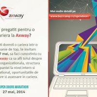 Esti pregatit pentru o cariera in IT la Axway?