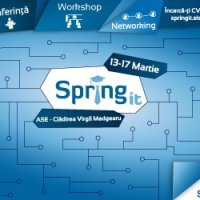 A VI-a editie SpringIT - 13-17 martie 2017