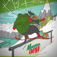 Snowboarding Contest powered by Montain Dew