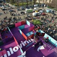 McDonald's România transformă Piața George Enescu într-un labirint de zâmbete