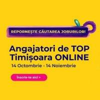 Cel mai mare târg de carieră din Banat, Angajatori de TOP Timișoara, exclusiv online