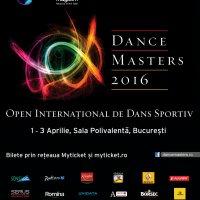 DanceMasters 2016. A 13-a ediție a celui mai important concurs internațional de dans sportiv din România