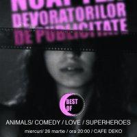 Best Of Noaptea Devoratorilor de Publicitate @ Cafe Deko