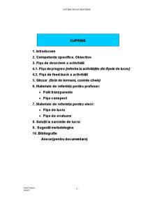 Sisteme de Automatizare - Pagina 1
