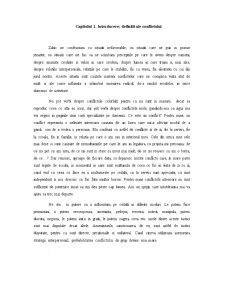 Conflictele - Pagina 1