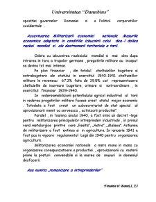 Situatia Economica a Romaniei in Perioada Celui de-al Doilea Razboi Mondial - Pagina 4