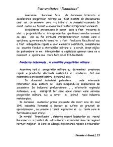 Situatia Economica a Romaniei in Perioada Celui de-al Doilea Razboi Mondial - Pagina 5