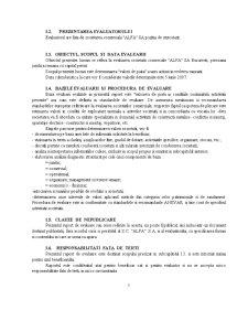 Raport de Evaluare - SC Alfa SA - Pagina 5