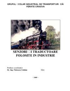 Senzori și Traductoare Folosite în Industrie - Pagina 2
