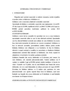 Lichidarea unei Societati Comerciale - Pagina 3