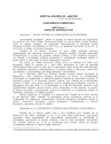 Dreptul Concurentei - Pagina 1