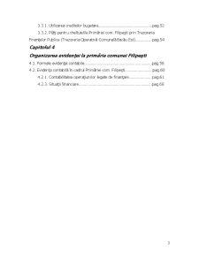 Organizarea si Conducerea Gestiunii la Primaria Filipesti - Bacau - Pagina 3