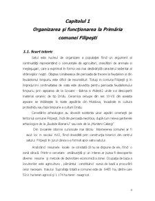 Organizarea si Conducerea Gestiunii la Primaria Filipesti - Bacau - Pagina 4