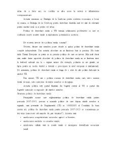 Politica de Dezvoltare in Spania si Romania - Pagina 5
