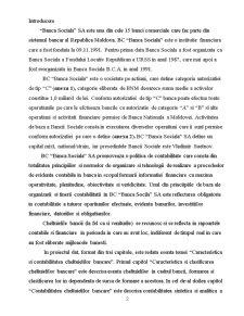 Caracteristica si Clasificarea Cheltuielilor Bancare - SC Banca Sociala SA - Pagina 2
