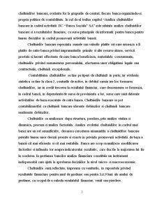 Caracteristica si Clasificarea Cheltuielilor Bancare - SC Banca Sociala SA - Pagina 3