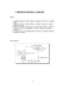 Reglarea Temperaturii unui Cuptor - Pagina 4