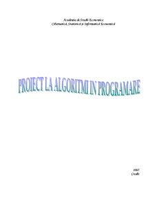 Algoritmi in Programare - Inchiriere DVd - Pagina 1