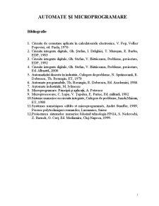 Sisteme Automate - Pagina 1