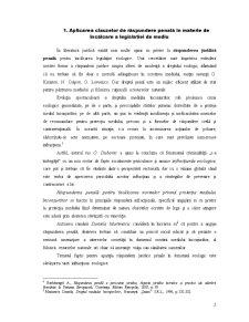 Aplicarea Clauzelor de Răspundere Penală în Materie de Încălcare a Legislației de Mediu - Pagina 3