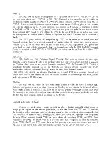 Achizitia, Procesarea de Informatie Audio si Video pentru Transpunerea pe un Suport Optic - Pagina 5