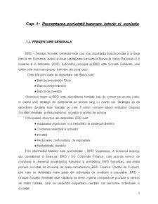 Monografie BRD - Tehnici si Operatiuni Bancare - Pagina 1