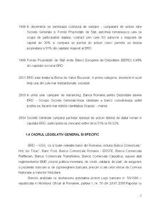 Monografie BRD - Tehnici si Operatiuni Bancare - Pagina 5