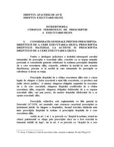 Dreptul Executarii Silite - Pagina 1