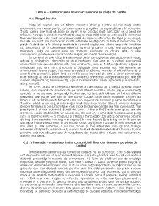 Curs 6 - Comunicarea financiar-bancară pe Piața de Capital - Pagina 1