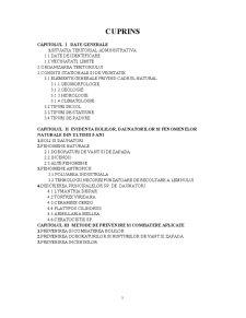 Situatia Daunatorilor pe Ultimii 5 Ani la Ocolul Silvic Timisoara - Pagina 2