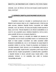 Dreptul de Proprietate Comună pe cote-părți - Pagina 4