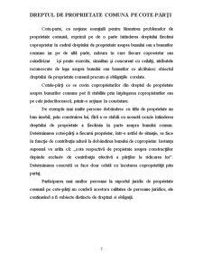 Dreptul de Proprietate Comună pe cote-părți - Pagina 5