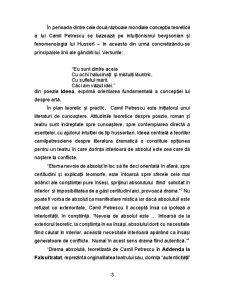 Conditia Intelectualului intre Realitate si Ideal - Camil Petrescu - Pagina 3