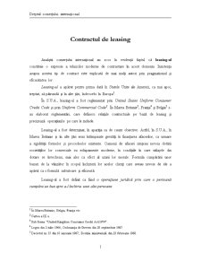 Contractul de leasing - Pagina 1