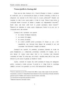 Contractul de leasing - Pagina 3