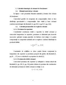 Proiectul Tehnologic al unei Instalații de Fracționare Multicomponent - Pagina 4