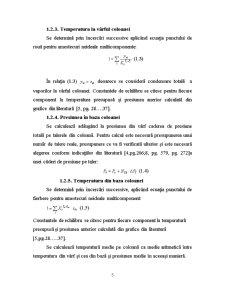 Proiectul Tehnologic al unei Instalații de Fracționare Multicomponent - Pagina 5