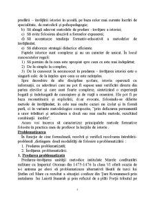 Metode Formative de Predare a Istoriei - Pagina 5