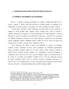 Managementul Riscului Operational la BRD - Pagina 2