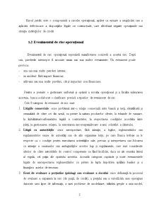 Managementul Riscului Operational la BRD - Pagina 3