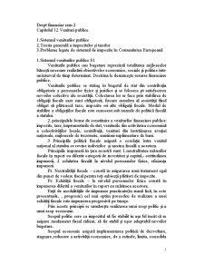 Drept Financiar Anul 2 Semestrul 2 - Pagina 1
